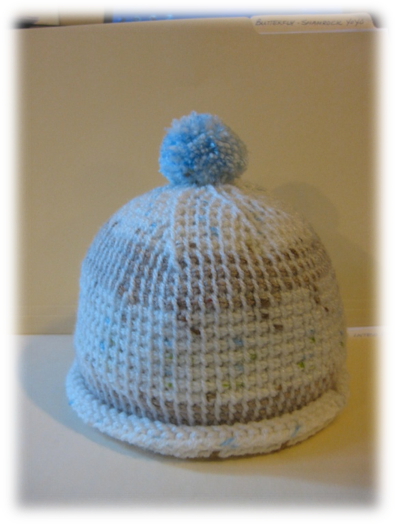 Simple Hat Knitting Pattern In The Round : Keeping Warm with Tunisian Crochet Clover Needlecraft