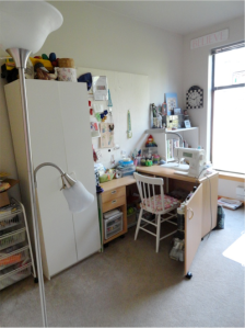 Carol's Sewing Room