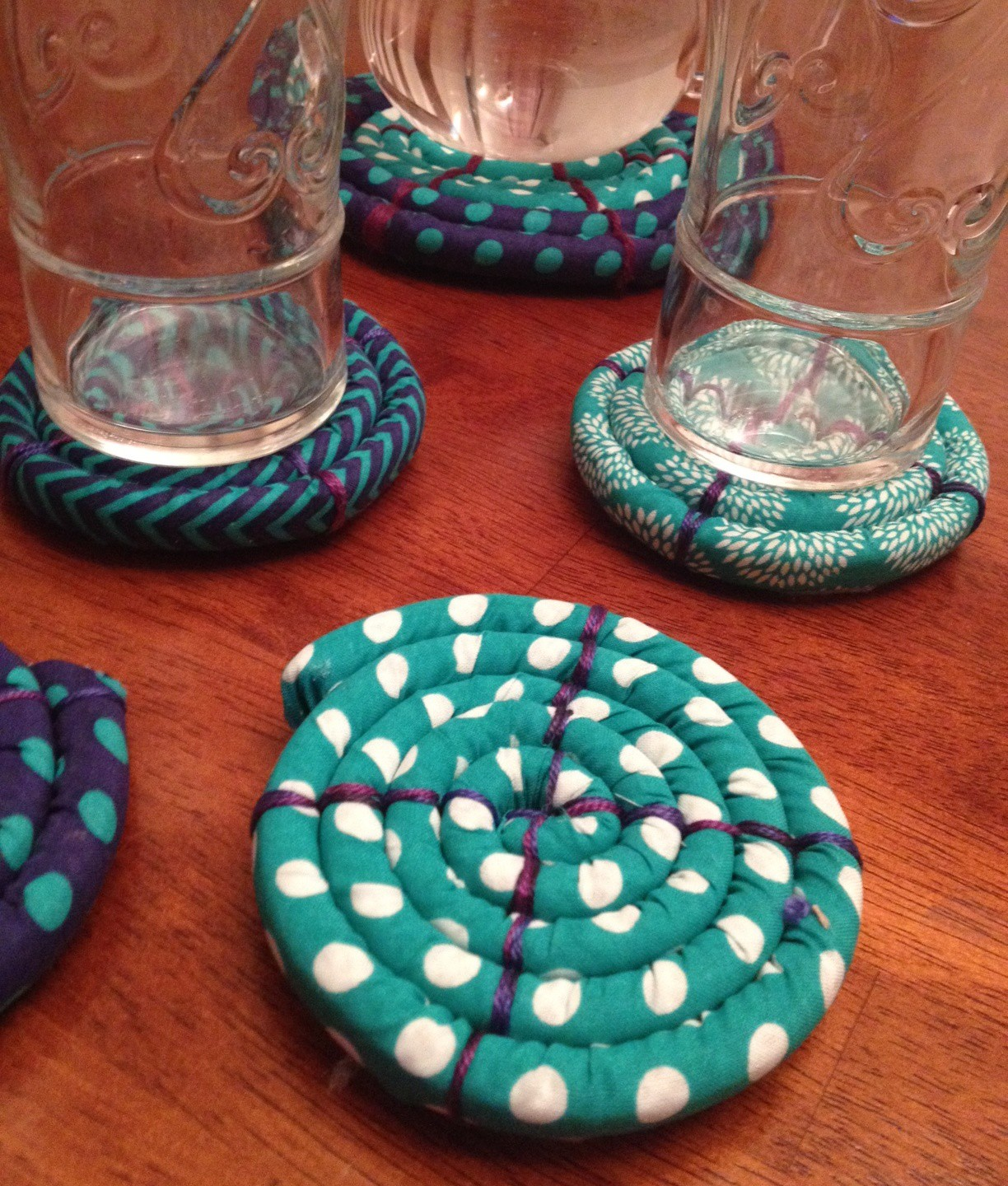 Wrap 'n Fuse Coiled Coasters | Clover Needlecraft
