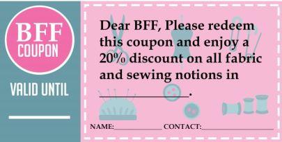 BFF Coupon