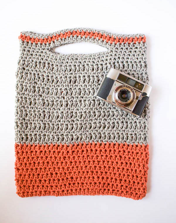 Clover Crochet Bag-5