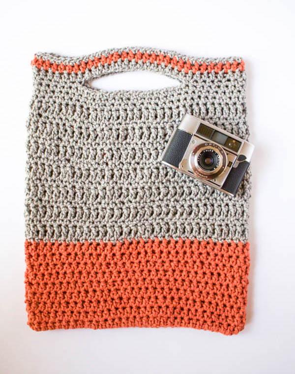 Clover Crochet Bag-5