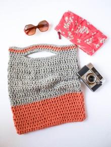 Clover Crochet Bag