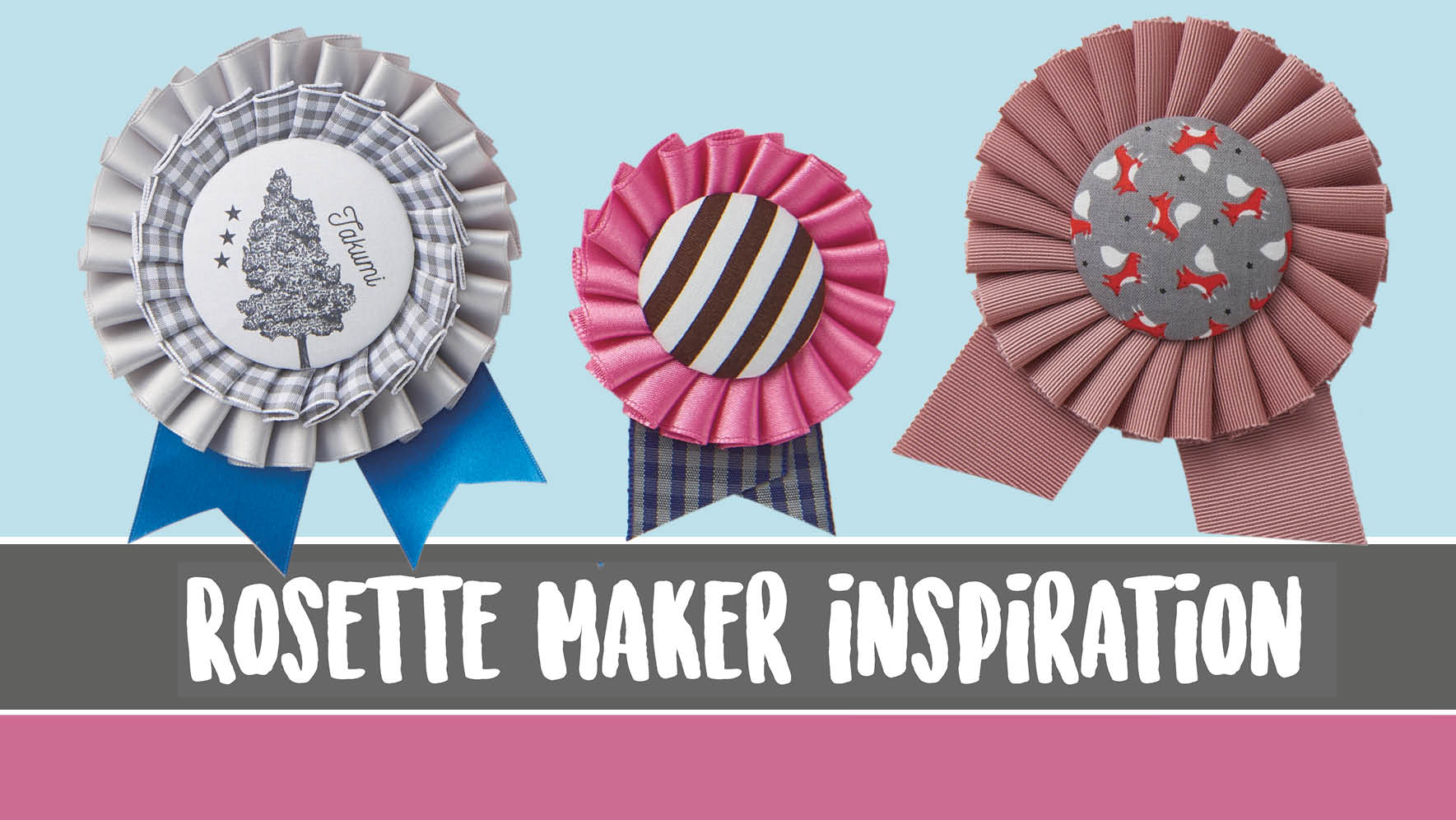rosette maker inspiration clover needlecraft